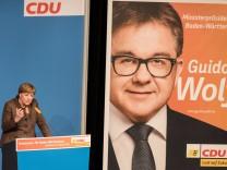 Wahlkampfveranstaltung der CDU Baden-Württemberg