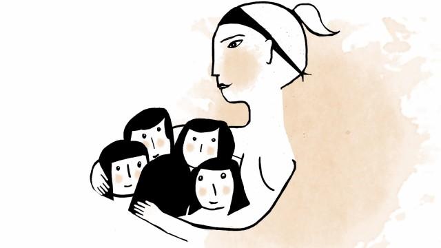 """Wie ich Euch sehe """"Wie ich Euch sehe"""": Mutter von fünf Kindern"""