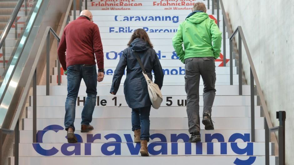 Pressetag Messe Caravan Motor Touristik