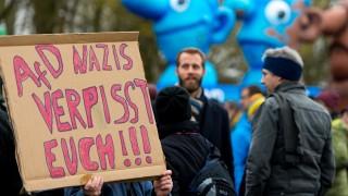Demonstration gegen AfD in NRW