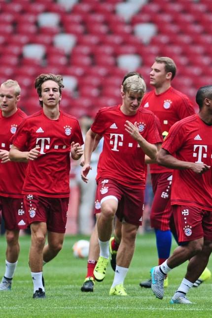 17 07 2015 1 Fussball Bundesliga 2015 2016 FC Bayern München AUDI Summer Tour in China 1 Trainin