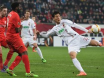 FC Augsburg v Liverpool - UEFA Europa League Round of 32: First Leg