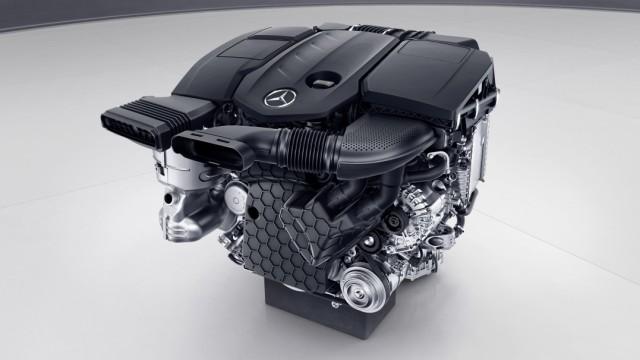 OM 654, die neue Vierzylinder-Dieselmotoren-Familie von Mercedes