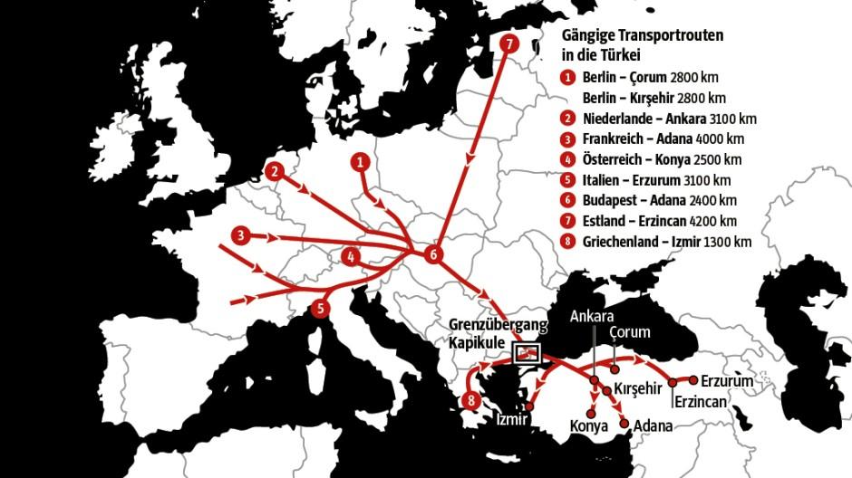 Tierschutz Tiertransport über 2800 Kilometer in die Türkei