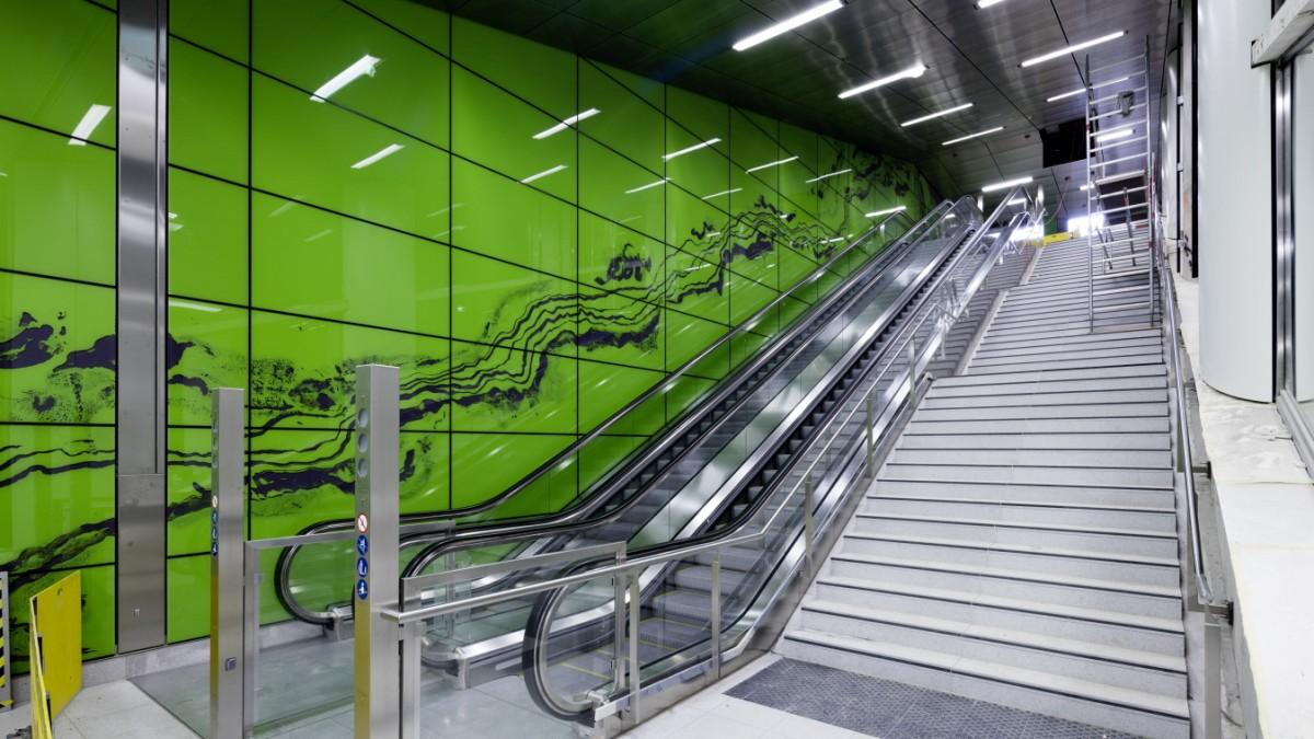 Düsseldorfer U-Bahn: Angenehm solide bis irre