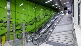 U-Bahn Station Graf-Adolf-Platz, Wehrhahn Linie Düsseldorf