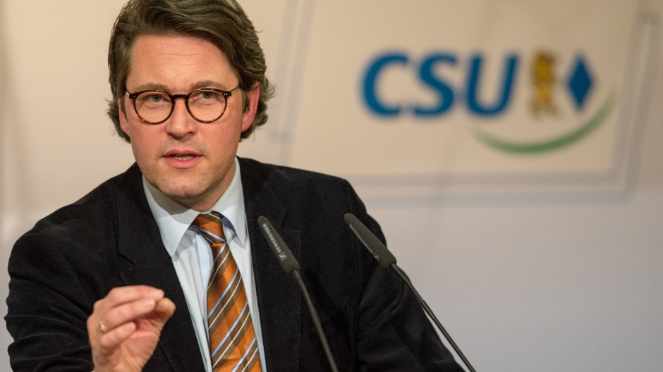 Bezirksparteitag der Niederbayern-CSU