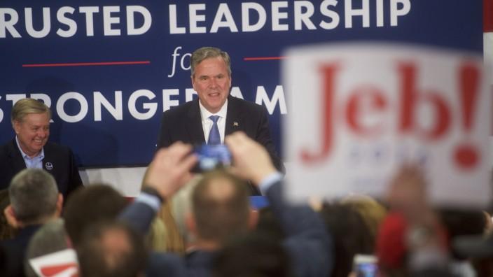 Jeb Bush USA Vorwahlen Donald Trump