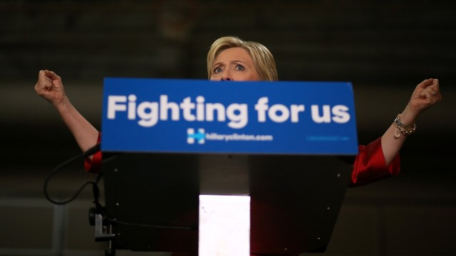 Hillary Clinton Holds Get Out The Vote Rally In Houston, Texas