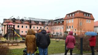 Brand in geplanter Asylunterkunft