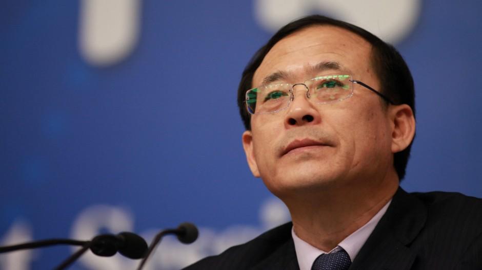 China removes top securities regulator