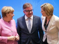 Angela Merkel -  Guido Wolf - Julia Klöckner