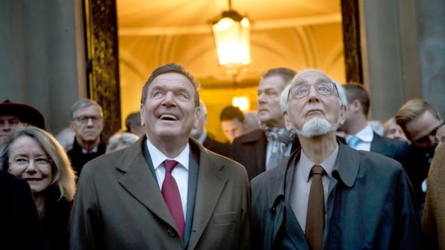 Erhard Eppler und Reinhold Würth erhalten Ehrenbürgerrecht