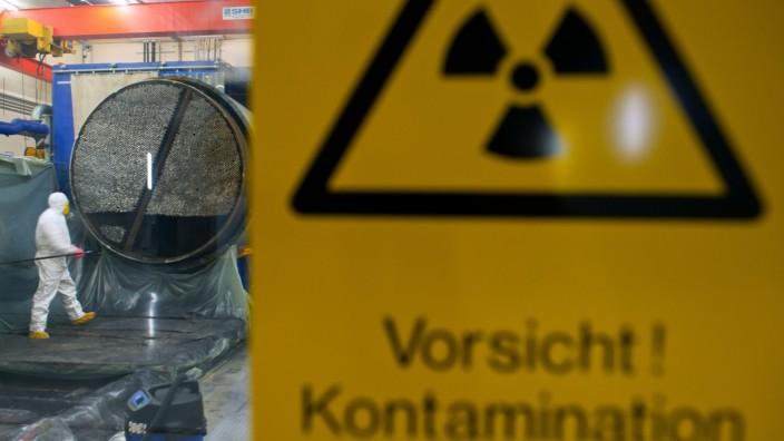 Atommüll-Energiewerke Nord in Lubmin