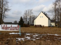 Ängste bei Asylbewerbern Clausnitz Neue Asylunterkunft