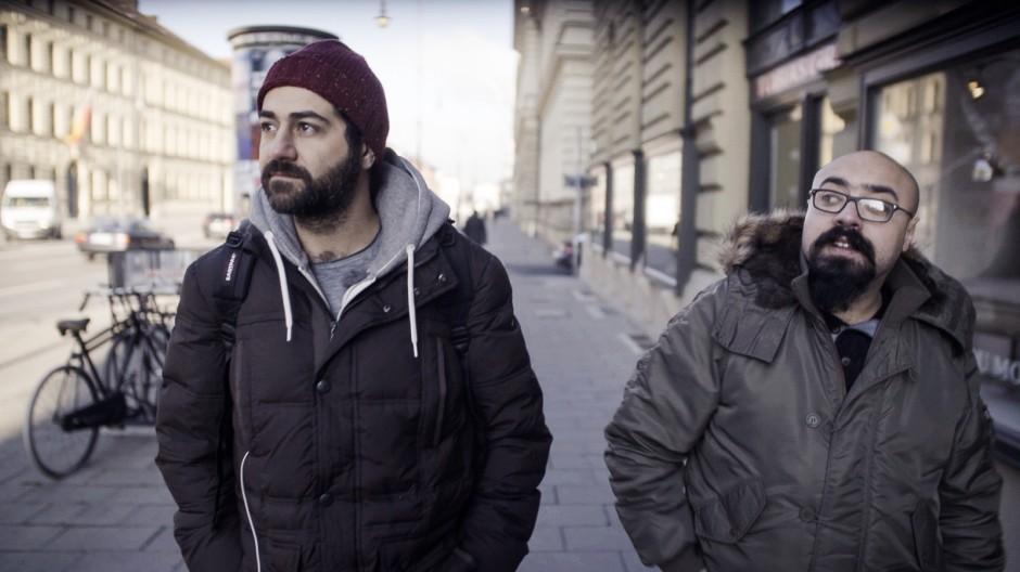 Unser Deutschland - zwei Syrer auf Winterreise