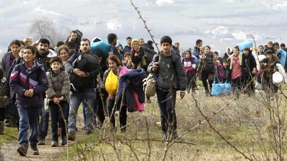 Flüchtlinge Flüchtlingspolitik