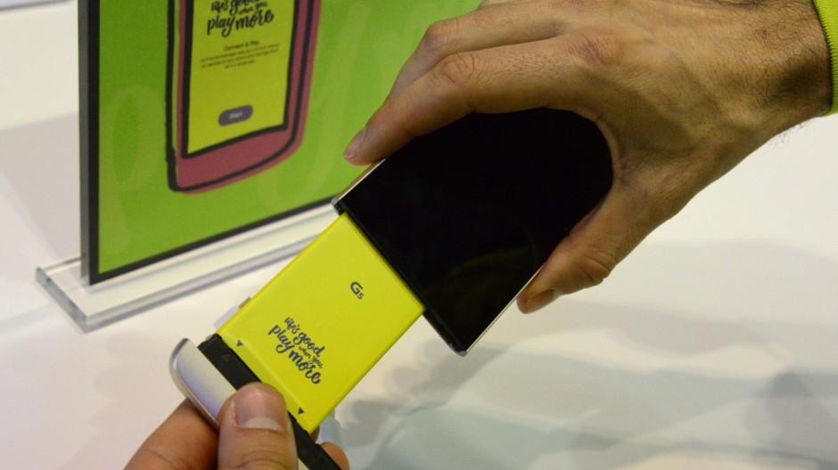 Neues LG-Smartphone-Flaggschiff G5 setzt auf Module