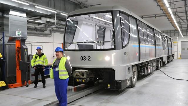 Flughafen Munchen Fuhrerlose Bahn Beginnt Testbetrieb Munchen