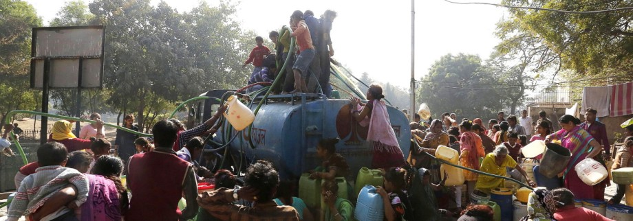 Delhi faces a water crisis after key water supply line is closed