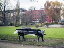 Obdachloser Herbert und Reisinger Anlagen Wiesbaden Bild x von x Wiesbaden für LOK 16 11 201