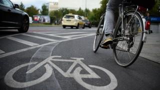 Radfahrer in Berlin