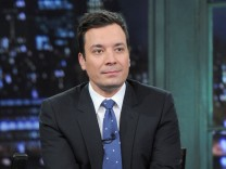 "Der Gastgeber der ""Late Night With Jimmy Fallon"""