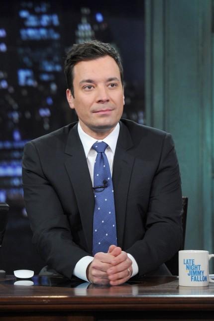 Seth Meyers Visits 'Late Night With Jimmy Fallon'
