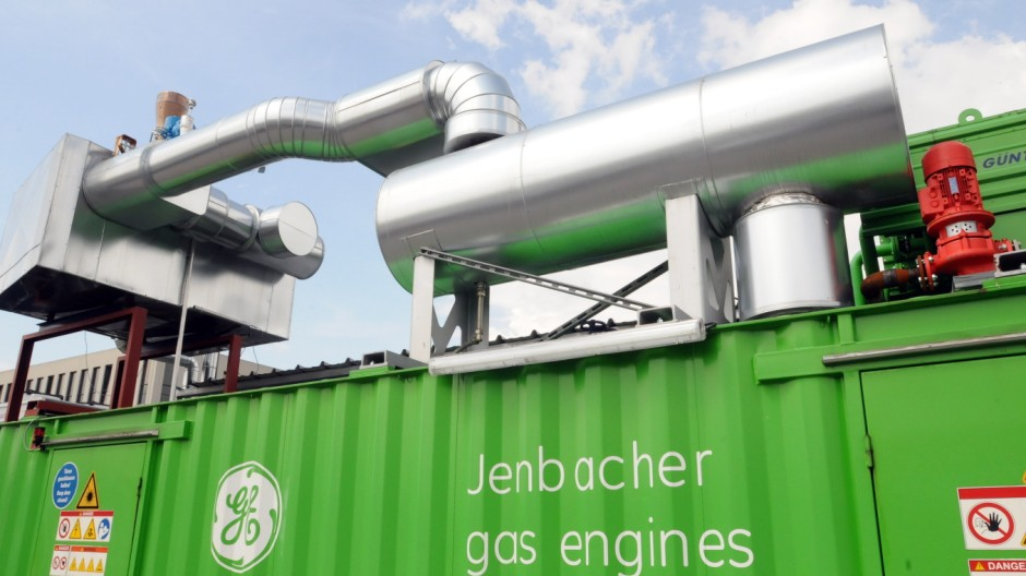 Gasmotorenforschung von General Electric in Garching, 2010