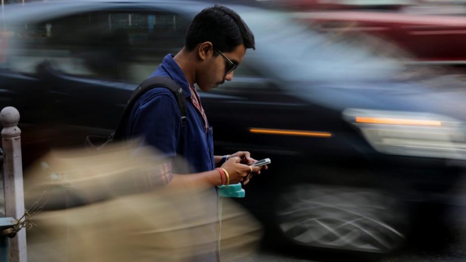 Smartphones in Indien
