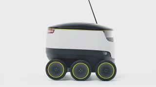Roboter Selbstfahrender Lieferroboter