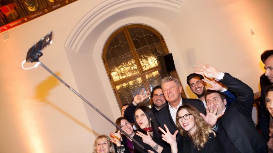 Jahresempfang für Migranten im Alten Rathaus. Geladen hat der Oberbürgermeister und der Ausländerbeirat München.