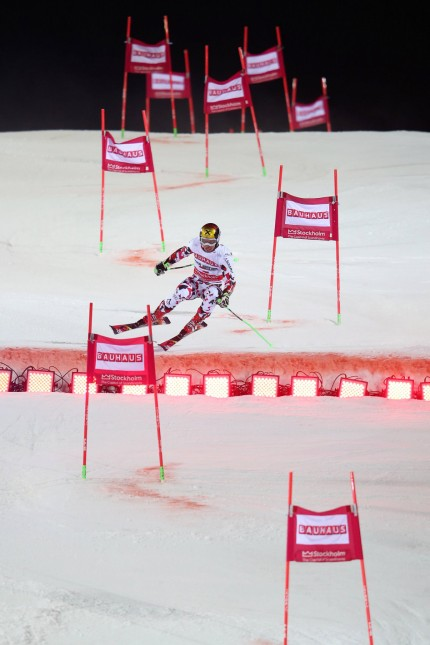 ALPINE SKIING FIS WC Stockholm STOCKHOLM SWEDEN 23 FEB 16 ALPINE SKIING FIS World Cup City Ev