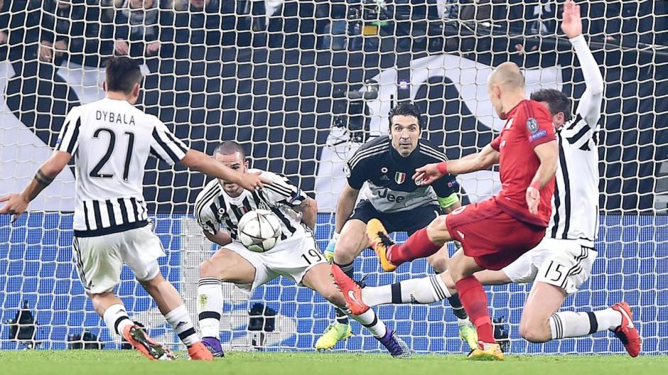 Juventus vs Bayern Monaco