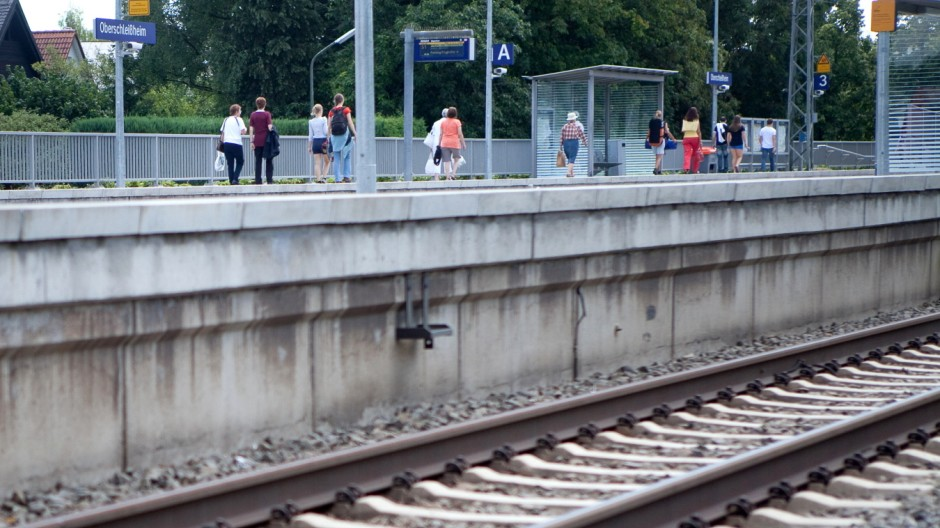Bahnsteig Oberschleißheim