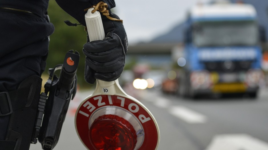 Germany Reinstates Border Controls To Stem Migrant Influx