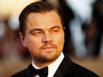 File photo of Leonardo DiCaprio at the 22nd Screen Actors Guild Awards in Los Angeles