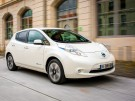 Nissan Leaf Front Seite Fahrbild