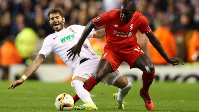 Liverpool v FC Augsburg - UEFA Europa League Round of 32: Second Leg