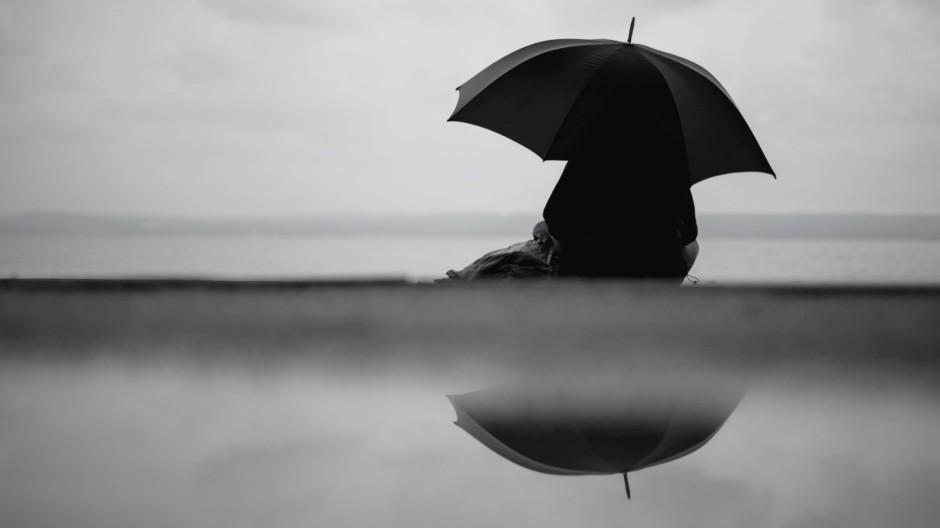 Regen am Ammersee
