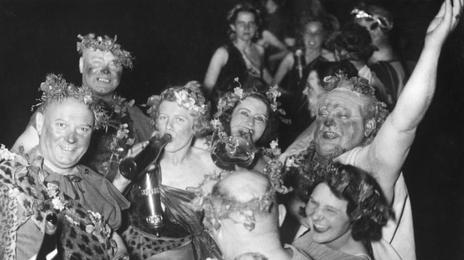 Künstlerfest zum Tag der deutschen Kunst in München, 1938