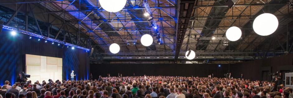 Facebook-CEO Mark Zuckerberg in Berlin