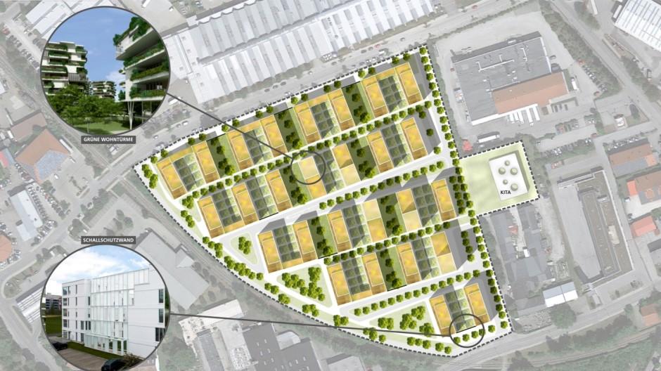 Geretsried 600 Wohnungen in Geretsried