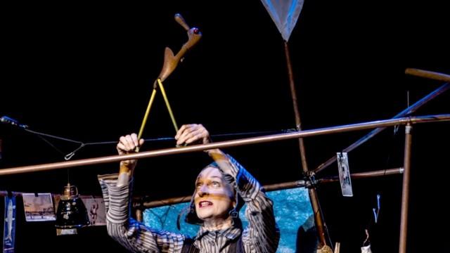 Theaterstück Wo ist mein Fuß? nach Bildern von Joan Miro
