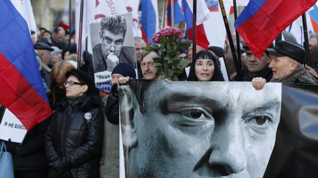 Anniversary of assassination of Boris Nemtsov