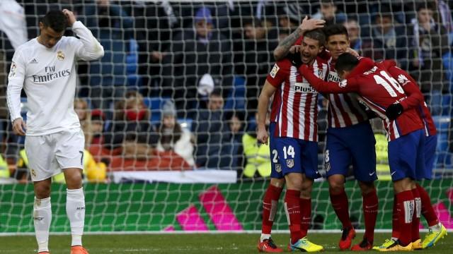 Football Soccer - Real Madrid v Atletico Madrid - Spanish Liga BBVA