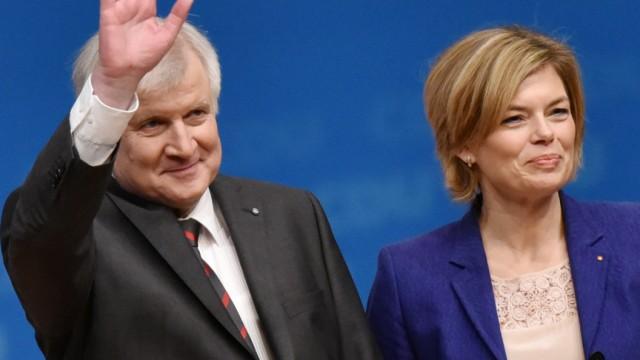 Julia Klöckner und Horst Seehofer