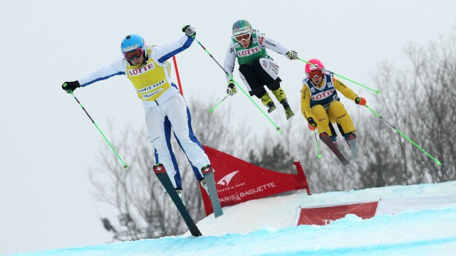 SKICROSS FIS SX WC Pyeongchang PYEONGCHANG SOUTH KOREA 28 FEB 16 FREESTYLE SKIING FIS World Cu