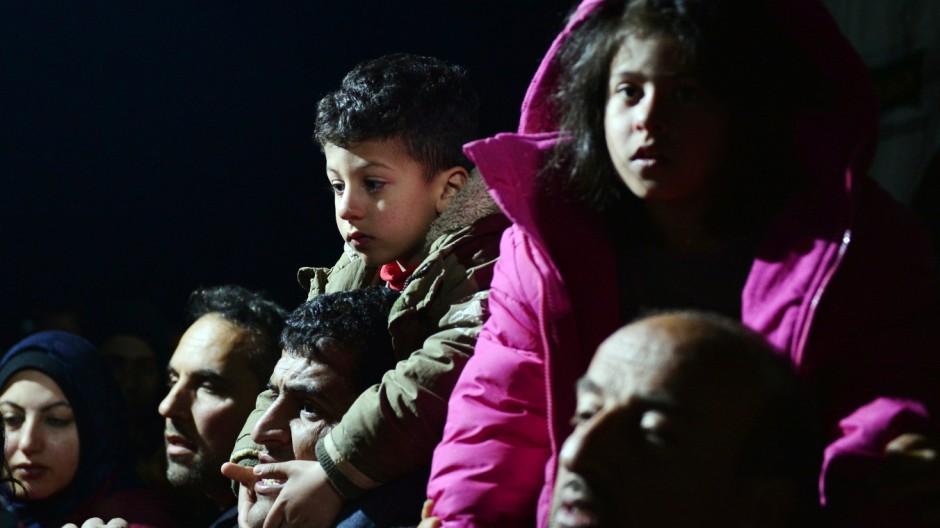 Flüchtlinge Flucht nach Europa