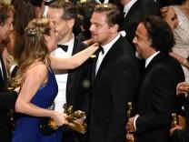Oscars 2016 - die Gewinner: Brie Larson, Leonardo DiCaprio und Alejandro Iñárritu